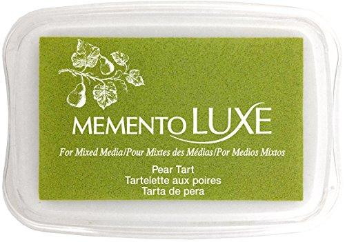 Tsukineko Memento Luxe Mixed Media Inkpad, Pear Tart