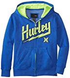 Hurley Big Boys Lightning Hoody Boys Hyper Cobalt Heath, Hyper Cobalt Heath, Large
