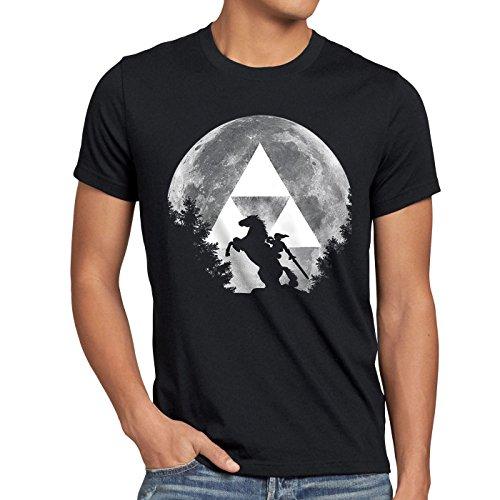 A.N.T. Link Epona T-shirt da uomo zelda ocarina, Dimensione:S