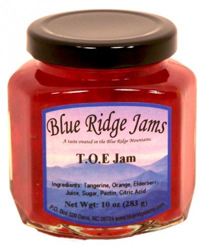 Blue Ridge Jams: T.O.E Jam, Set of 3 (10 oz Jars)