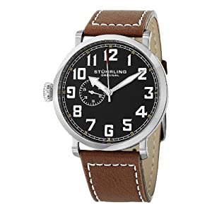 Stuhrling Original Men's Left Handed Quartz Watch