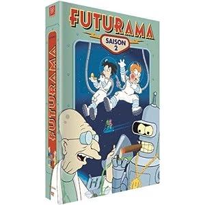 Futurama, saison 2 - Coffret 4 DVD