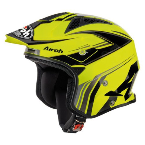 Airoh TRR Trial Dapper Cross Helmet yellow Size:L