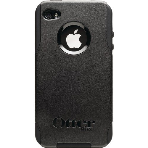 OtterBox Universal Commuter Case for iPhone 4 (Black, Retail Packaging) (Doesn\'t support iPhone 4S)