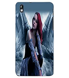 HTC DESIRE 816 ANGEL GIRL Back Cover by PRINTSWAG