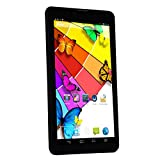 "Inovat 7"" 1024 X 600 Resolution Android 4.2.2 Mtk8312 Dual Core 1.3ghz 1gb+8gb 3g Tablet Pc Phablet Dual SIM Dual Standby 2.0mp/8.0mp Dual Cameras Wifi Bluetooth GPS (Black) video review"