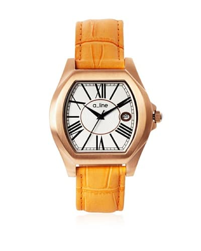 a_line Women's 80008-RG-02-TAN Adore Tan/Rose Gold-Tone Leather Watch