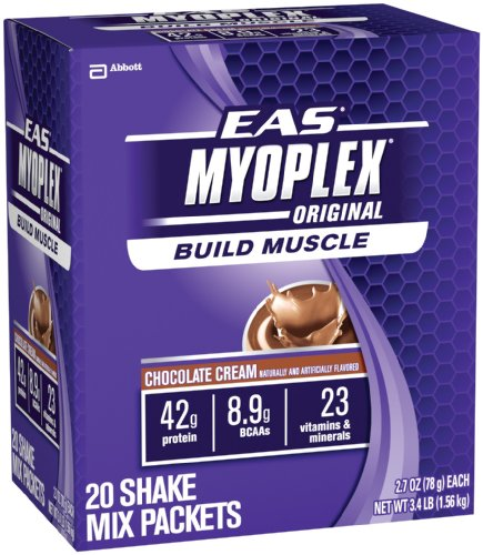 EAS Myoplex Original Nutrition Shake, Chocolate Cream, 3.44  Pounds