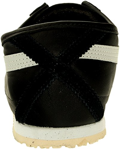 Onitsuka Tiger Women's Mexico 66 Shoe,Black/Light Grey,10.5 M US
