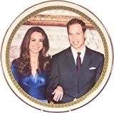 Bone China Royal Wedding Prince William and Kate Middleton Plate 8