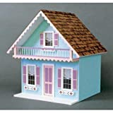 Real Good Toys Real Good Toys Snow Country Chalet Kit - 1 Inch Scale, Medium Density Fiberboard