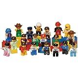 People for Preschool Bricks - 20 Piece Set