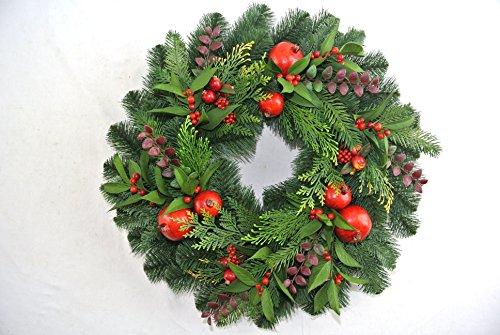 24-Inch-Christmas-Pine-Wreath-With-Pomegranates-Berries-Cedar-and-Eucalyptus