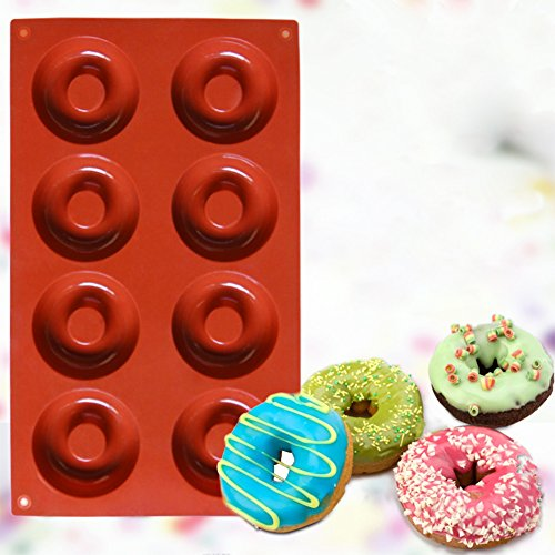 Ozera-8-Cavity-Silicone-Donut-Pan-2-Pack-Muffin-Cups-Cake-Baking-Ring-Biscuit-Mold