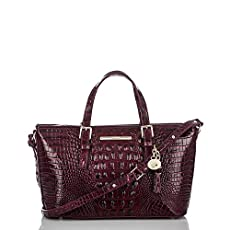 Mini Asher Tote<br>Black Cherry Melbourne