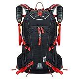 パラディニア(Paladineer)ハイキング アウトドア バックパック サイクリングリュック 軽量 ナイロン製 耐水性 25L 4色選び