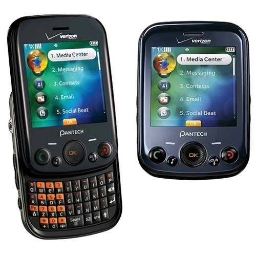 Verizon Pantech Jest TXT8040 Replica Dummy Phone/Toy Phone, Black - 1