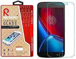Raydenhy Premium Quality Tempered Glass For Motorola Moto G4 Plus (4th Gen)