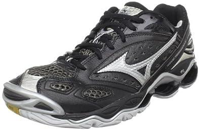 Mizuno Men's Wave Tornado 6 Volleyball Shoe,Black/Silver,7 M US