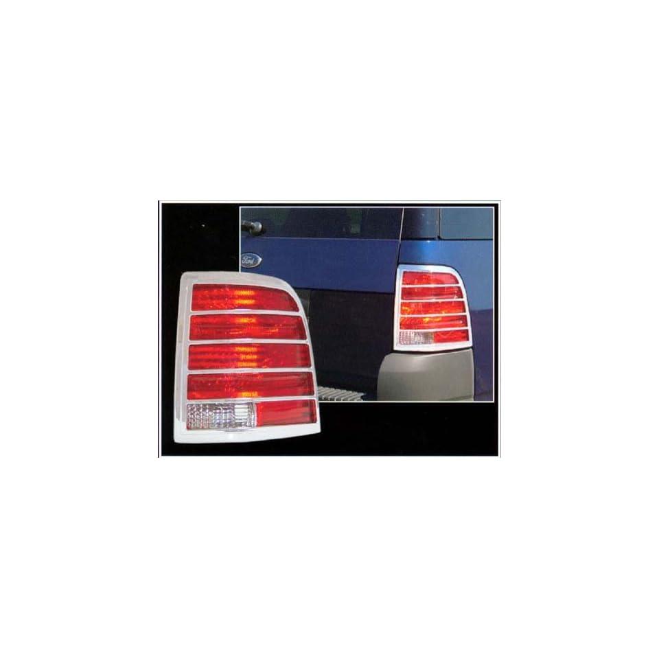 2002 2010 Ford Explorer 2pc Chrome Tail Light Covers