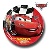10 Disney Pixar Cars Party Lightning McQueen Disposable 9 Paper Plates
