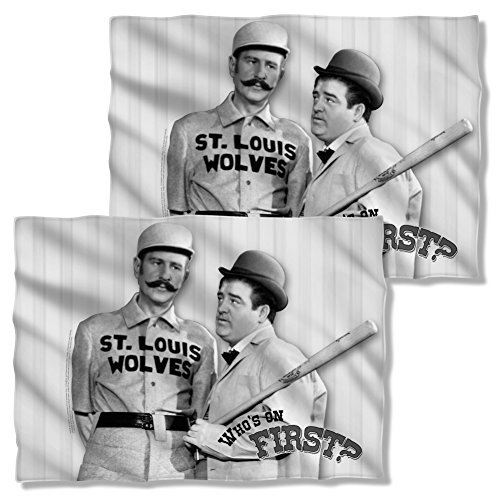 Abbott & Costello First Front & Back Pillow Case AAC109FBPLO
