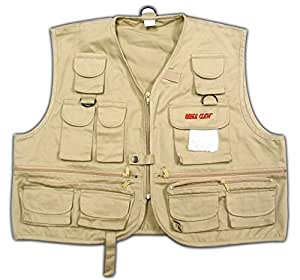 Buy eagle claw youth fishing vest large online at low for Kids fishing vest