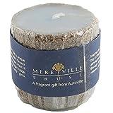 Mereville Wax Candles (14 Cm X 14 Cm X 8 Cm, Cream, GN-CAN-07-MER-OCEAN-BREEZE)