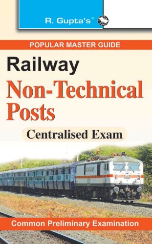 RRB - Non-Technical (Commercial/T.A./Goods Guards) Exam Guide (Centralised): Non-Technical (Commercial/T.A./Goods Guards etc.) Exam Guide (Centralised) (Old Edition) Image