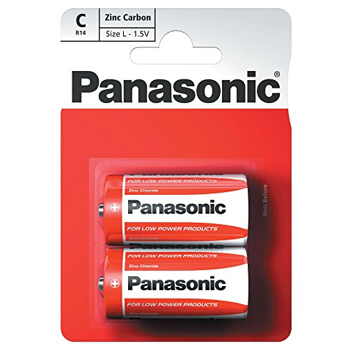 Panasonic 1146 Special Power Batterie Zinc R14R C Baby