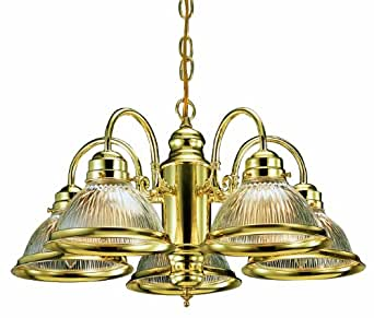 Design House 500546 Millbridge 5 Light Chandelier 14 Inch By 22 Inch Polish