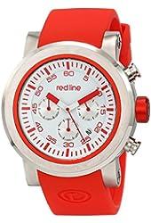 red line Men's RL-50050-02-RDAS Torque Sport Analog Display Japanese Quartz Red Watch