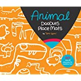Animal Party Doodles Place Mats ~ Taro Gomi