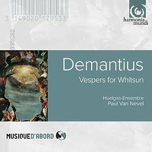 Demantius: Vespers for Whitsun