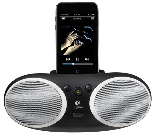 Logitech Portable Speaker S125I With Built-In Ipod Dock