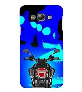 Bullet Bike Ride Rider 3D Hard Polycarbonate Designer Back Case Cover for Samsung Galaxy E5 :: Samsung Galaxy E5 E500F (2015)