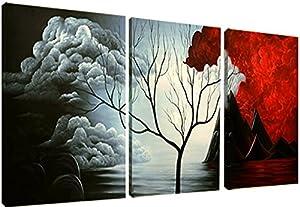 Santin Art the Cloud Tree Modern Abstract Painting High