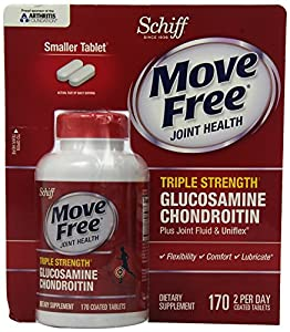Move Free Triple Strength Joint Health Supplement, 170 Count