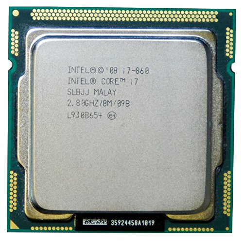 Intel Core i7-860 SLBJJ 2.8GHz 8MB Quad-core CPU Processor LGA1156