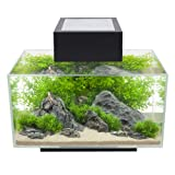 Fluval Edge 6-Gallon Aquarium with 21-LED Light, Black