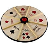 """Sterling Games 18"""" Wooden Michigan Rummy~Double Sided"""