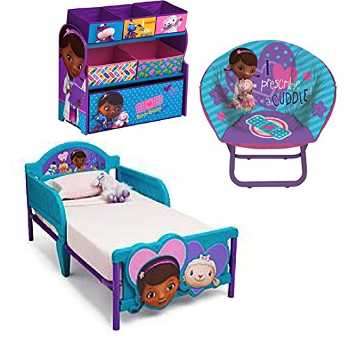 Disney Bundle of 3  Doc Mcstuffins Multi bin Toy Organizer  Doc Mcstuffins  Mini. Doc McStuffins Furniture for the Playroom and Home   WebNuggetz com