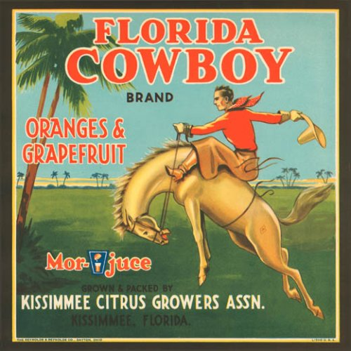 florida-cowboy-oranges-grapefruit-juice-usa-fruit-crate-label-print-reproduction