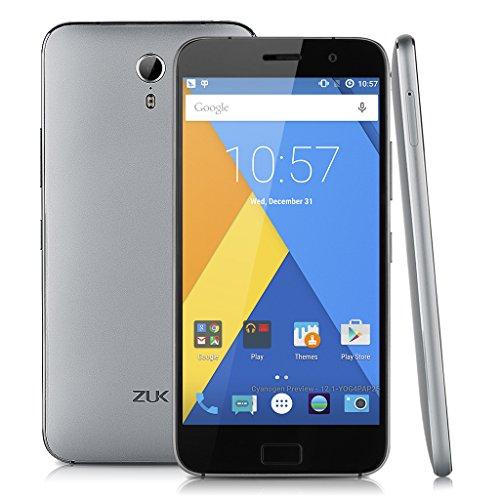 ZUK Z1 Smartphone 4G 5.5 pollici IPS Schermo Cyanogen OS 12.1 USB3.0 Connettore di Tipo-C Qualcomm Snapdragon 801 2.5GHz Doppia Fotocamera Identificazione dell'impronta Digitale