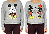 Disney Minnie and Mickey Juniors French Terry Pullover Tops