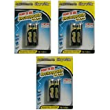 Skywok 3 Packs Of 6 Pieces 2500mah AA 1.2V, Rechargeable Ni-Mh Batteries 2500 MAh AA Size