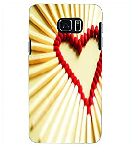 PRINTSWAG HEART Designer Back Cover Case for SAMSUNG GALAXY NOTE 5 EDGE