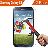 Supone Ultra Thin 9H Tempered Glass Screen Protector for Samsung Galaxy S4, 2 Pack