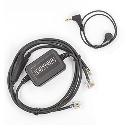 Leitner Electronic Hookswitch for Avaya and ShorTel phones. Compatible with LH280, LH270, LH275 Leitner Wireless Office Headsets
