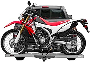 Aluminum Motocross amp Dirt Bike Hitch Mounted Carrier AMC-400 for 2quot Receivers